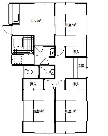 福井アパートA棟